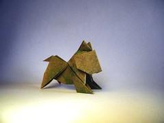 Cat - Ryosuke Sakurai (Rui.Roda) Tags: origami papiroflexia papierfalten gato chat cat ryosuke sakurai