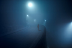 Your Twists and Turns (C A Soukup) Tags: fog nightimage nightphotography noir