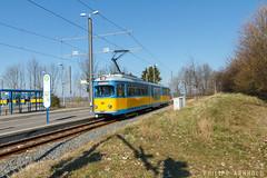 GT8N 508 Gleisdreieck (IMG_2697-2) (philipp138) Tags: strasenbahn duewag gt8n fahrschule twsb
