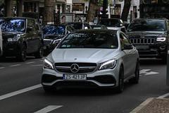 Poland (Szczecin) - Mercedes-AMG CLA 45 C117 2017 (PrincepsLS) Tags: poland polish license plate germany berlin spotting zs szczecin mercedesamg cla 45 c117 2017