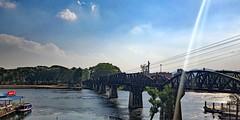 Bridge on the River Kwai (grab a pic) Tags: iphonex thailand 2019 deathrailway bridgeontheriverkwai nongpladuk kanchanburi alliedprisoners japanese railway burma metergauge bangkok maekhlung kwaeyai bigkwae kwaenoi littlekwae steelbridge woodenbridge february1943 alliedbombingin1945 worldwar2 prisonersofwar
