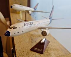 Kormányváróban megmaradt MALÉV repülőgépmodellek (BUD - 2018) (KristofCs) Tags: malev modellek 767200 1100 180 malév