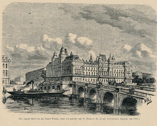 Eigenhaard 1913, Amsterdam Amstelhotel, ontwerp