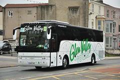 9  Glen Valley, Wooler H14 GVT (Martha R Hogwash) Tags: h14 gvt yj11 gko van hool alicron glen valley tours wooler mills yorkshire rose barnsley