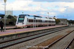 tren 17026 (joseignacioalbala) Tags: quedadaempalme estacionmonfragüe extremadura estación tren 598 ferrocarril empalme