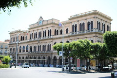 FS: Stazione Palermo Centrale (Helgoland01) Tags: eisenbahn railway fs italien italy italia palermo sicilia sicily sizilien bahnhof bahnhofsgebäude