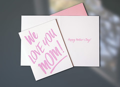 wlym2 (ddotcom12) Tags: skyofbluecards letterpressprinting letterpresscard dkdesignstudiophotography gift greeting mothers day