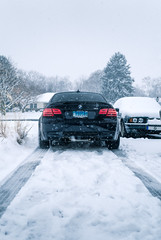 Winter E92 M3 1 (Arlen Liverman) Tags: exotic maryland automotivephotographer automotivephotography aml amlphotographscom car vehicle sports bmw bmwusa snow winter e92 m3
