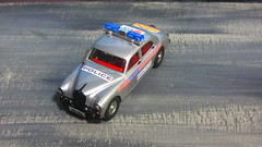 Corgi Toys Riley Pathfinder Police No. 209 Built From 1958 - 1962 Restored And Converted Into A Modern London Metropolitan Police Car : Diorama British Tower Blocks - 6 Of 23 (Kelvin64) Tags: corgi toys riley pathfinder police no 209 built from 1958 1962 restored and converted into a modern london metropolitan car diorama british tower blocks