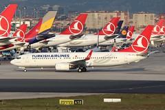 TC-JVN Turkish Airlines Boeing 737-800 @ Istanbul Ataturk 4th October 2018 (_Illusion450_) Tags: tcjvn turkish airlines boeing 737800 istanbul istanbulatatürkairport ist atatürk ataturk flyinn istanbulatatürkhavalimanı airport aircraft aeroplane aeroport aviation avion flughafen