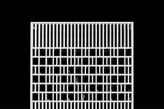 Eurojust in black and white (Jan van der Wolf) Tags: map190265zwv eurojust denhaag architecture architectuur lines facade gevel blackandwhite zwartwit ritme rhythm visualrhythm