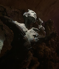 Sorry and Pity (Roblawol) Tags: art artistic asia china chinese chongqing human light museum prc pain peoplesrepublicofchina sculpture suffering symbol symbolic threegorgesmuseum woman iphone iphonex