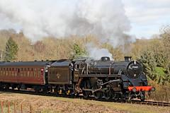 75069 BR Standard 4MT 4-6-0 (1955) (Roger Wasley) Tags: 75069 br standard 4 svr valley railway british railways shropshire severn steam train locomotive southern region 4mt
