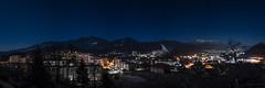 Ravne na Koroškem (hometown) night panorama (blaz.lasnik) Tags: night photography ravne na koroškem slovenia panorama sky stars lights hometown
