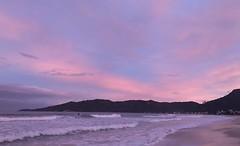 (katrinludwig) Tags: santacatarina brasil brazil praia beach céu sky rosa lilás violet