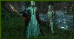 Choose Your Path Wisely (0rco (more away than here at the moment)) Tags: elf elven elves forest fantasy faerie fairy forestguardian prince butterflies lake sundown shadow staff circlit magic secondlife trees