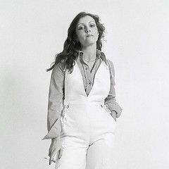Michelle Dodd, 1977 (norm_p) Tags: michelledodd dodd fashion beauty boutique girl woman blackqandwhite bw mono monochrome studio portrait 1970s 1977 cigarette smoking nikon ft
