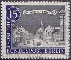 Deutsche Briefmarken (micky the pixel) Tags: briefmarke stamp ephemera deutschland bundespost berlin altberlin mauerstrase