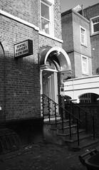 Scary (serge der) Tags: bw building brixton dental surgery noirblanc light london street