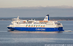 Color Festival (375) (Christoffer Andersen) Tags: colorline colorfestival cruiseferry danskebåten oslofjorden passengership passengervessel shipspotting