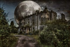 Caldwell (Michelle O'Connell Photography) Tags: glasgow paisley glenifferbraes asylum home hospital caldwellhouse abandoned derelict building moon imagination mobileedit michelleoconnellphotography