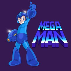 Mega Man (80's SnoopEDR) Tags: megaman capcom mywork myart fanart videogames procreateart procreate digitalart blackartist flickrart