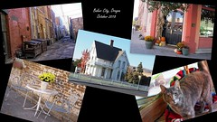 Baker City, Oregon (Eclectic Jack) Tags: baker city eastern oregon trip october 2018 rural autumn fall mountains central collage collection montage