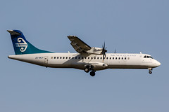 ZK-MCY (PlanePixNase) Tags: airnewzealand atr72 atr at7 auckland akl nzaa aircraft airport planespotting