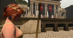 Minerva - Roman Goddess (Estelle SL fashion) Tags: roman roleplay secondlife slave goddess