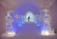 Sorrisniva Igloo Hotel (Seventh Heaven Photography *) Tags: sorrisniva igloo hotel ice alta norway finnmark sculptures bar columns arches lighting nikond3200 snow water region polar northern