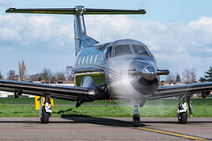 Private_PC-12_M-ARTY_ANR_MRT19 (Jonas_Evrard) Tags: aviation airport aircraft airplane antwerp antwerpairport spotting spotter photography planespotting plane planes planespotter