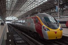 Virgin Trains 390130 (Mike McNiven) Tags: virgintrains trains virgin london euston manchester piccadilly platform railway alstom emu electric multipleunit