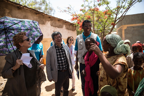 Field Visit of IDP sites in East Hararghe Zone, Oromia Region