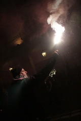 real man are feminists (Oliviadio94) Tags: fire night revolution feminist manifestation fireworks city turin