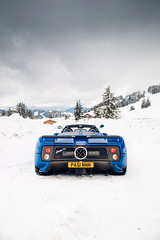 Zonda C12S. (Alex Penfold) Tags: pagani zonda c12s roadster blue supercars super supercar car cars autos alex penfold 2019 france snow mountains