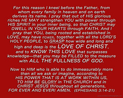 "Ephesians3-14-21 (DonBantumPhotography.com) Tags: bible text ""gods holy word"" ""new covenant"" jesus life truth salvation forgiveness eternal faith god mercy grace joy peace perfection strength weakness victory ""httpwwwdonbantumcom"" ""httpwwwdonbantumphotographycom"" ""httpwwwjesuswordcom"" ""httpwwwrevealedinchristcom"" ""eternal life"" ""everlasting love ""mini sermon"" gospel prayer thanksgiving christ messiah message ""heaven bound"" ""jesusnothing"""