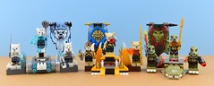 LEGO 70229, 70230 and 70231🐊 (Alex THELEGOFAN) Tags: lego legography minifigure minifigures minifig minifigurine minifigs minifigurines chima sets review crocodile lion bear tribe pack 70229 70230 70231