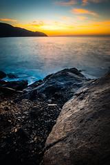 Simplicity Coast (JohnLazo19) Tags: 1635mm canon5dmarkiv coast longexposure morning pch pacificcoasthighway rocks sunrise water
