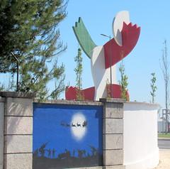 paz e guerra (Américo Meira) Tags: portugal lisboa arteurbana grafitti