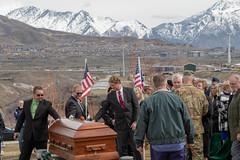 WWII Vet 2LT Lynn Hadfield Homecoming (Utah National Guard) Tags: lynnwhadfield bluffdale veteransmemorialcemetary ut militaryhonorsfuneral wwiiveteran 21gunsalute