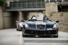 Mercedes SLR Stirling Moss (Guillaume Tassart) Tags: mercedes slr stirling moss 2014 mille miglia club motorsport rally automotive