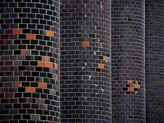 Patchwork (Ulrich Neitzel) Tags: architecture architektur backstein brick brickwork column lines linien mzuiko14150mm masonry mauerwerk olympusem1 patch säule wall ziegel