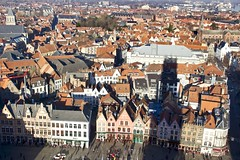 Belfort shadow (@WineAlchemy1) Tags: belfortvanbrugge belfry bruges markt belgium flanders vlaanderen unesco worldheritage medieval inbruges winter