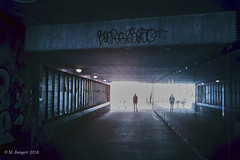 Subway (markbangert) Tags: subway underground infrared infrarot ir fuji xt1