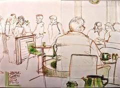 Zest café (Happy Sketcher) Tags: illustration drawing sketch urbansketch colouredpencil