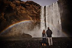 Steve & Megan (LalliSig) Tags: iceland photographer portrait portraiture landscape people engagement skógafoss