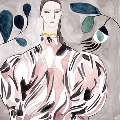 Cayetana & Caton Projects (cayetana.caton) Tags: pinterest kelly beeman cayetanacatonprojects fashion illustrator put her name map when designer jw anderson discovered paintings his designs instagram result desi art