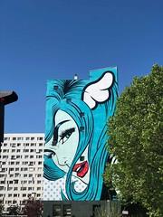 femme-charmante-blue© (alexandrarougeron) Tags: photo alexandra rougeron ville paris art urbain flickr style création rue