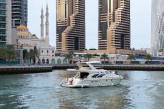 Boating at Dubai (JarkkoS) Tags: 2470mmf28eedafsvr d850 dubai dubaimarina uae unitedarabemirates ae