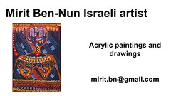 Mirit Ben-Nun by the artisti woman influence art language  solo gallery  exhibitis borders (female art work) Tags: material no borders rules by artist strong from language influence center art participates exhibition leading powerful model diferent special new world talented virtual gallery muse country outside solo group leader subject vision image drawing museum painting paintings drawings colors sale woman women female feminine draw paint creative decorative figurative studio facebook pinterest flicker galleries power body couple exhibit classic original famous style israel israeli mirit ben nun